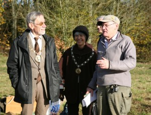 Mayor & Lady Mayoress talking to Steve Goodwin