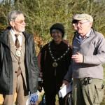 Mayor & Lady Mayoress talking to Steve Goodwin